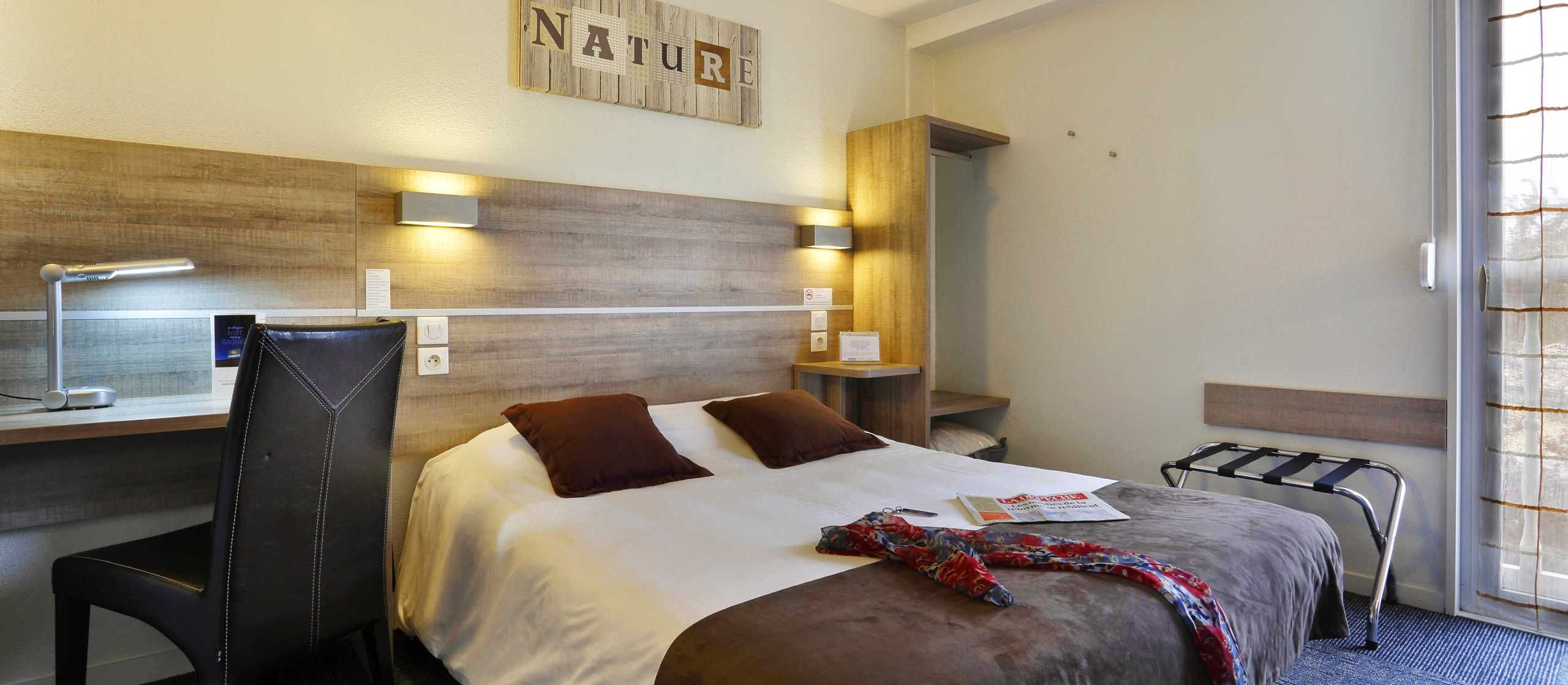 Hotel Kyriad Montauban - Chambre Double 1 à 2 personne